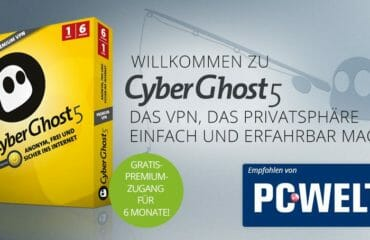 VPN Cyberghost PCWelt Special