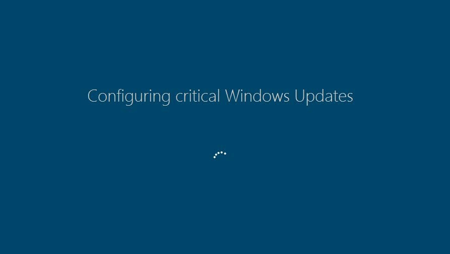 Fantom Ransomware Mimics Windows Update Screen